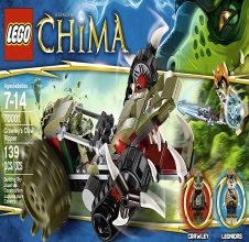 LEGO CHIMA Crawley's Claw Ripper
