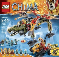 LEGO CHIMA : Mammoth's Frozen Stronghold.