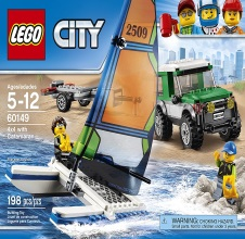 LEGO CITY : 4x4 with Catamaran.