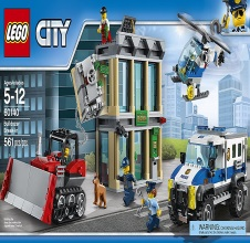 LEGO CITY : Bulldozer Break-in.