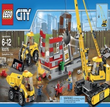 LEGO CITY : Demolition Site.