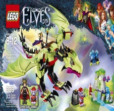 LEGO ELVES : The Goblin King's Evil Dragon.