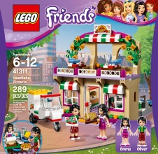 LEGO FRIENDS : Heartlake Pizzeria.