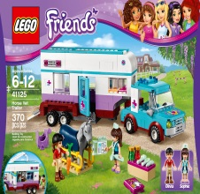 LEGO FRIENDS : Horse Vet Trailer.