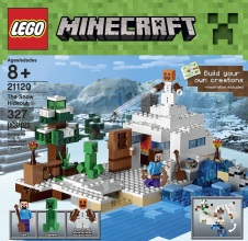 LEGO MINECRAFT : The Snow Hideout.