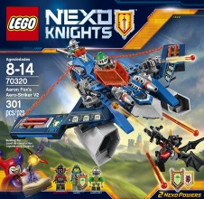 LEGO NEXO KNIGHTS : Aaron Fox's Aero-Striker V2.