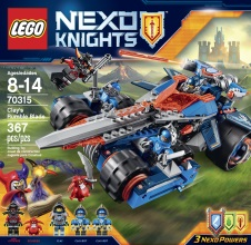 LEGO NEXO KNIGHTS : Clay's Rumble Blade.