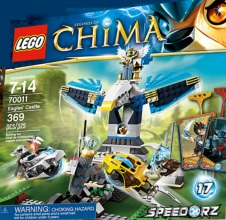 LEGO CHIMA : Eagles' Castle