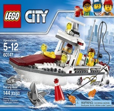 LEGO CITY : Fishing boat