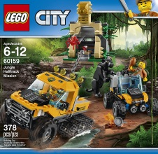 LEGO CITY : Jungle Halftrack Mission