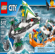 LEGO CITY Sailboat Rescue