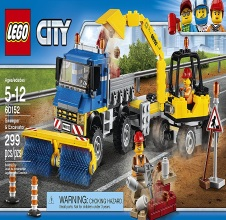 LEGO CITY : Sweeper & Excavator
