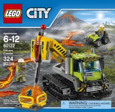 LEGO CITY: Volcano Crawler