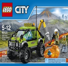 LEGO CITY: Volcano Exploration Truck