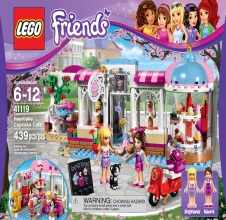 LEGO FRIENDS : Heartlake Cupcake Cafe.