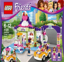 LEGO FRIENDS : Heartlake Frozen Yogurt Shop.