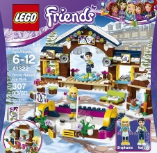 LEGO Friends Snow Resort Chalet Set 41323