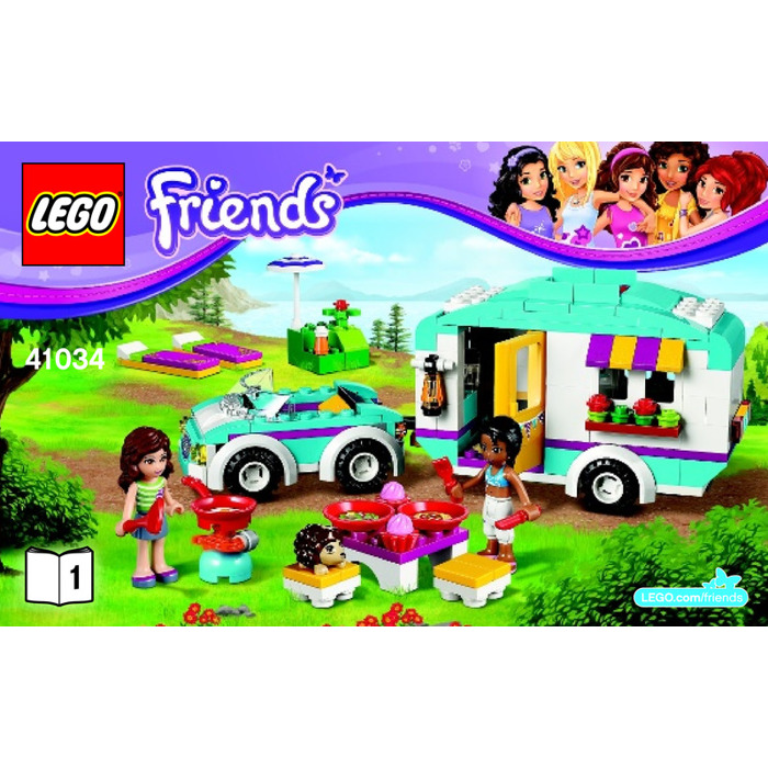 LEGO Friends : Summer Caravan.