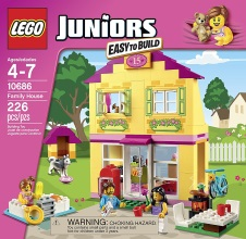 LEGO JUNIORS : Family House.