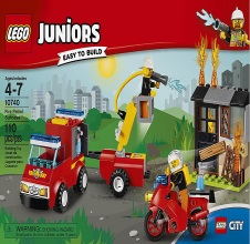LEGO JUNIORS : Fire Patrol Suitcase.