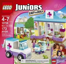 LEGO JUNIORS: Mia's Vet Clinic