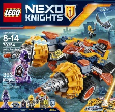 LEGO NEXO KNIGHTS : Axl's Rumble Maker.