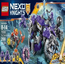 LEGO NEXO KNIGHTS : The Three Brothers.