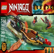 LEGO NINJAGO : Destiny's Shadow.
