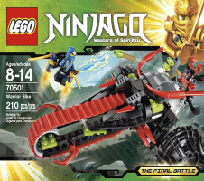 LEGO NINJAGO : Warrior Bike.