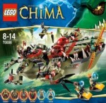LEGO CHIMA Cragger's Command Ship 70006