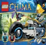 LEGO CHIMA Elgor's Twin Bike 70007