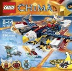 LEGO CHIMA Eris' Fire Eagle Flyer 70142