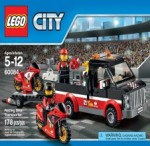 LEGO CITY Racing Bike Transporter 60084