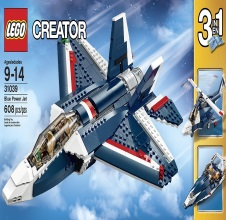 LEGO CREATOR Blue Power Jet 31039