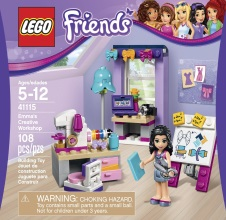 LEGO FRIENDS Emma's Creative Workshop