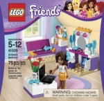 LEGO Friends Andrea's Bedroom ; Mia's Lemonade Stand