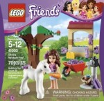 LEGO Friends Olivia's Newborn Foal ; Stephanie's New Born Lamb