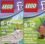 LEGO Friends Vet Clinic ; Bunnies & Babies