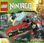 LEGO NINJAGO Warrior Bike 70501