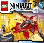 LEGO NINJAGO, masters of Spinjitzu Kai Fighter 70721