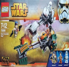 LEGO STAR WARS Ezra's Speeder Bike 75090