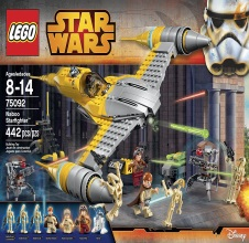 LEGO STAR WARS : Naboo Starfighter.