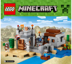 LEGO MINECRAFT : The Desert Outpost.