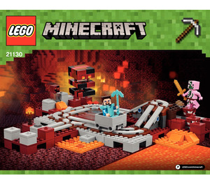 LEGO MINECRAFT : The Nether Railway.