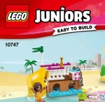 LEGO JUNIORS : Andrea & Stephanie's Beach Holiday.
